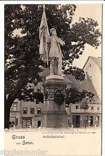 Gruss aus Jena AK um 1900 Burschenschaftsdenkmal Studentika Thüringen 1506262