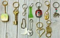 Lot Of 11 Assorted Vintage Keychains