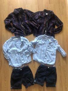 Twin Boys Clothes Bundle Age 5-6 Years River Island Matalan
