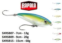 Rapala X-Rap® Saltwater SubWalk Casting Fishing Lure 7cm-15cm 13g-60g Various Co