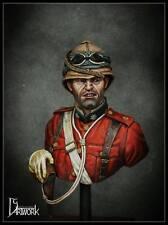 DG Artwork Coldstream Guards Officer 1882 Egypt 1/9th resin Bust Unpainted kit