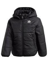 adidas Originals Little Kids Jacket - Black/White 7-8 years