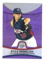 KYLE WINKLER USA TEAM RC  2010 BOWMAN PLATINUM #PP49 - PURPLE REFRACTOR