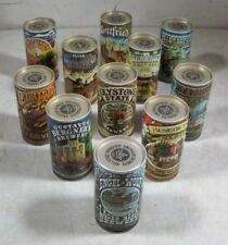 11 Vintage 1978 American Brewers Historical Collection Tin Beer Cans Empty
