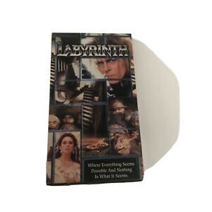 Labyrinth Bowie Rare Cult Classic VHS Video