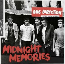 ONE DIRECTION - MIDNIGHT MEMORIES (GERMAN DELUXE EDITION) CD 18 TRACKS POP NEU