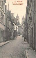 AUTUN - Petite rue Chauchien et Tour des Bancs