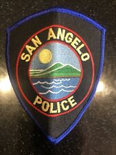 San Angelo Police Department Patch