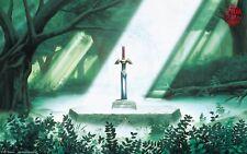 Poster A3 The Legend Of Zelda Ocarina Of Time Sheik Link Videogame Videojuego 06