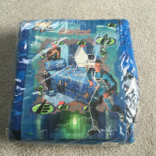 Vtg Max Steel Cartoon Character Blanket Bedding Polyester Twin Full New in pkg