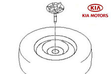 Kia Picanto 2011-2015 Spare Wheel Retainer