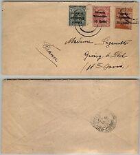VENEZIA TRIDENTINA-5h+10h+20h(28/29/30)-Busta Trieste 20.2.1919
