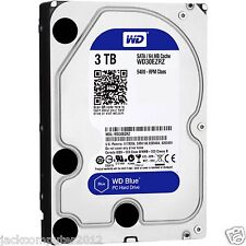 """WD Caviar Blue 3 TB 64MB 3.5"""" PC Desktop Internal (WD30EZRZ) Hard Drive HDD 3TB"""
