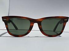 Vintage Ray-Ban Wayfarer Tortoise Sunglasses B&L L2052 BL5022