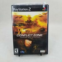 Conflict Zone (Sony PlayStation 2, 2002) PS2 MODERN WAR STRATEGY