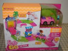 Barbie On The Go CAR WASH Playset with Figure NEW in Box