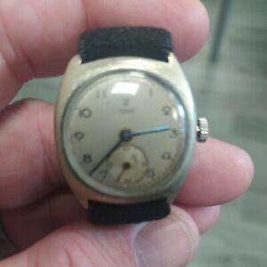 Tudor Cushion Vintage Watch pitting to case