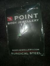Point Body Jewellery  Surgical Steel brand new Rrp$49.95