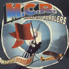 MODENA CITY RAMBLERS RADIO REBELDE LP VINILE COLORATO RED NUOVO POSTER LIMITED