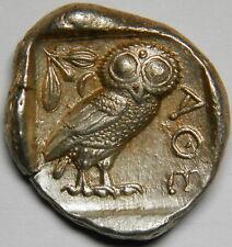 Attica Athens tetradrachm circa 454-404 BC XF [17.23 grams]