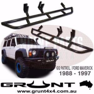 NISSAN GQ PATROL Y60 / for Ford MAVERICK EXTRA HEAVY DUTY ROCK SLIDERS SIDE STEP