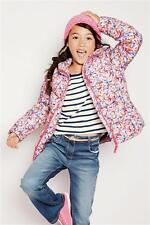 BNWT NEXT Girls Pink Butterfly Padded Jacket / Coat 5-6Yrs  6Y  6-7y SPRING