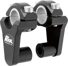 Rox Black Universal Elite 2 Inch Pivoting Risers For 7/8 & 1 1/8 Handlebars