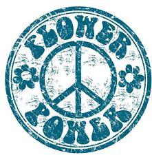 Flower power paix Autocollant Decal étiquette en vinyle graphique V1