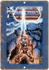 """He-Man and The Masters of the Universe #1 10"""" x 7"""" Reproduction Metal Sign J12"""
