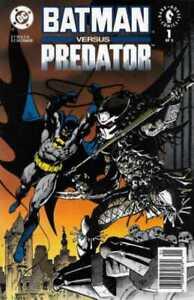 Batman vs. Predator #1 Newsstand (1991-1992) DC & Dark Horse Comics