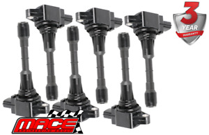 6 X MACE STD REPLACEMENT IGNITION COIL FOR NISSAN PATHFINDER R52 VQ35DE 3.5L V6