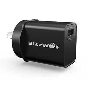 BlitzWolf BW-S9 18W QC 3.0 PD Type-C Port USB Quick Charge Wall Charger Adapter