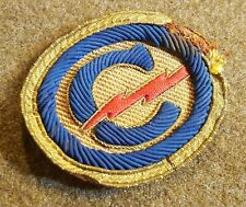 Post-Wwii Us Constabulary Patch Bullion German-Made