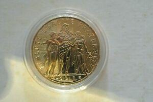10 euro silver dorée gold  FRANCE 2013 UNC ( HERCULE   ) , poids 17 gr20