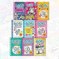 Dork Diaries Series 9 Books Collection Pack Set by Rachel Renee Russell English