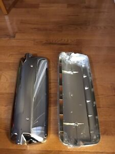 Freightliner Columbia Door Mirror Cover Chrome Driver and Passenger Side (gs-010