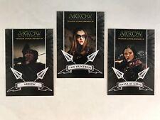 ARROW DC TV SERIES: SEASON 2 Complete ARCHER'S Chase Card Set (A1 A2 A3)