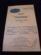 Enrico Toselli Serenata Partizione Music Sheet Voce