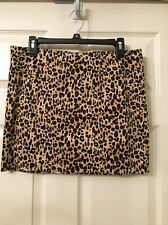 """Ladies Forever 21"""" Beige & Black Skirt Size Large """" New With Tags 💕💕💕"""