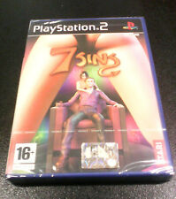 7 SINS - SETTE PECCATI - Playstation 2 PS2 EDIZIONE ITALIANA New & Sealed