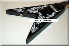 KERRY KING Miniature Mini Guitar BC Rich Tribal Slayer by ARTSTUDIO35