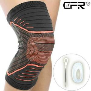Knee Support Hinged Sleeve Compression Brace Patella Pad Stabilizer Jogging Gyms