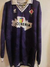 Fiorentina 1991-1992 Home Football Shirt Size XL LS /7744