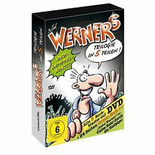 5 DVDs * WERNER COMIC - BOX ~ limitiert ~ SAMMELBOX MIT 5 FILMEN  # NEU OVP +