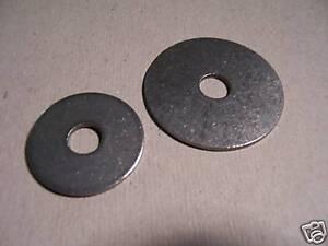 20St. Karosseriescheiben, V2A rostfrei, 8,4x30x1,25