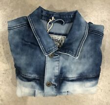 Smoke Rise Jean Jacket In Acid Wash Sz. Xl Retail $130! NWT 100% Authentic!