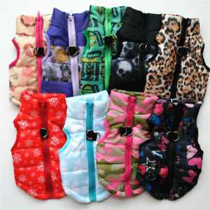 Pet Dog Chihuahua Dog Sweater Coat Jacket Small Pet Clothes Puppy Warm Apparel