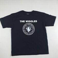 The Wiggles T Shirt, Black - Rock 'n' Roll Preschool! Toddler Size 5