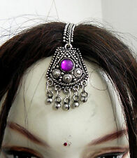 Tika Jewelry Ethnic Gypsy Boho At Kuchi Tribal BellyDance Tiara Tikka Head Piece