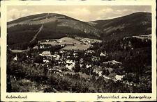Johannisbad Janské Lázně Riesengebirge Sudetenland 1939 Verlag Zinecker gelaufen